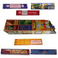 Inciensos surtido 25 fragancia notas + 6 cajas más popular Nag Champa fragancias