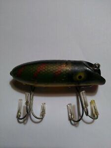 """Vintage Wood South Bend Top Water Fishing  Lure 2-1/2"""" used no box"""