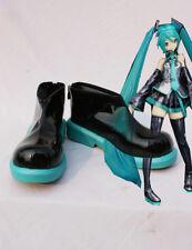 Fashion Female Vocaloid Hatsune Miku Cosplay Shoes Anime Boots