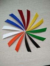 """24pcs Turkey Arrow Feather Natural Archery Fletching 4"""" Right Shield Wings"""