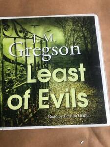 J. M. Gregson - Least of Evils -   Unabridged audiobook on CD
