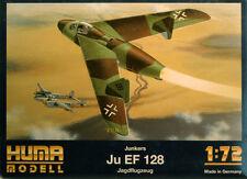 Junkers Ju EF 128 Jagdflugzeug 1:72 Huma Modell 3007 Luftwaffe 2. Weltkrieg