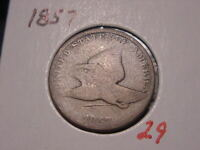 1857 FLYING EAGLE CENT G NICE ATTRACTIVE BETTER DATE COMBINED SHIPPING