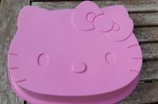 Hello Kitty Silicone Cake Mould Used Once Pink