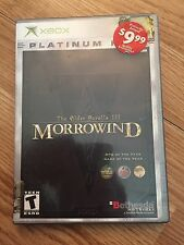 Elder Scrolls III: Morrowind GOTY With Manual Microsoft Xbox NG6