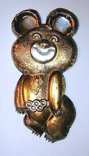 Misha - Moscow Olympic Games 1980 mascot - metal diecast