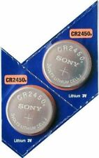2PC SONY CR2450 2450 Lithium Battery 3V 600 mAh