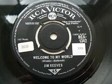 jim reeves       welcome to my world EX