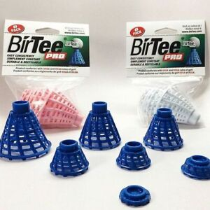 BirTee Pro Mat Golf Tees - 8 Pack(Colored) Great for Simulators!!
