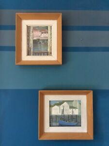 Cornish paintings, Loose  Polperro Acrylic on board ,Original