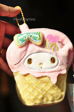Super Cute My Melody Ice Cream Change Purse Wallet Coin Bag Card Holder Pendant