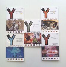Y THE LAST MAN Trade Paperback Series Graphic Novel Lot 1-5 Vertigo