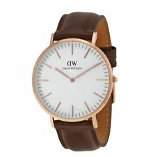 Daniel Wellington 0109DW Classic Bristol 40mm Rose Gold Case Unisex Casual Watch