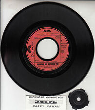 """ABBA  Knowing Me, Knowing You & Happy Hawaii  PICTURE SLEEVE 7"""" 45 rpm BRAND NEW"""