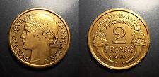 IIIème république - 2 francs Morlon 1940 TTB/SUP - F.268/13