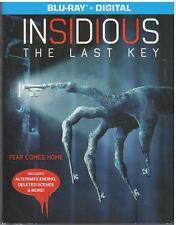 INSIDIOUS THE LAST KEY (Blu-ray, 2018, Includes Digital Copy) NEW WITH SLEEVE