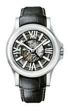 Bulova Accu Swiss Men's 63A122 Kirkwood Skeleton Dial Automatic 40mm Watch