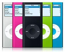 Apple iPod Nano 2nd Gen 2Gb - Silver Red Green Blue Pink Mp3 | Good (B-Grade)