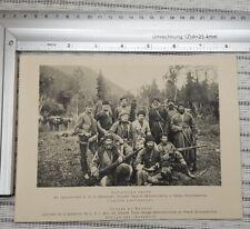 Hunting Russian cossacks Photo picture Kubani Prince Romanov old print Huntsman