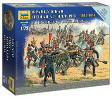 Zvezda - French foot artillery 1812-1814 - 1:72