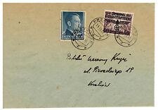 1941 Przeworsk Poland Germany GG cover to Krelow