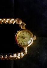 Vintage Omega Mechanical Ladymatic 18k Watch with Bracelet