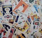 Lot of 32 Old Memories Forever Old Movie & Ads Poster Vintage Postcards