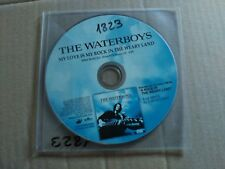 PROMO CD SINGLE THE WATERBOYS - MY LOVE IS MY LOVE IN THE WEARY LAND - SPAIN VG+