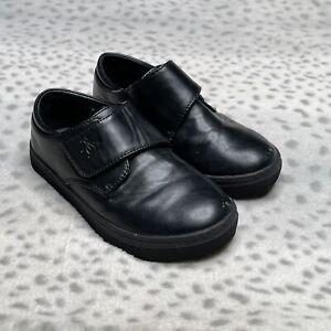 Original Penguin Faux Leather Casual Dress Shoe Boys Size 12 Black