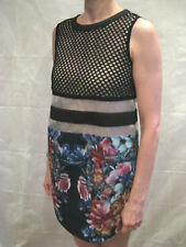 Cameo Size S 8 Designer Shift 1960s Dress