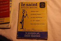 Le Saint Détective Magazine N25 - mars  1957