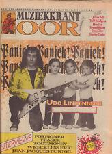 MAGAZINE OOR 1978 nr. 08 - UDO LINDERBERG/PATTI SMITH/STRANGLERS/FOREIGNER