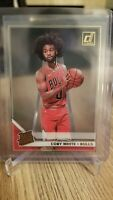 2019-20 Panini Clearly Donruss Coby White Rated Rookie RC Gold Acetate