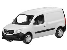 MERCEDES CITAN CDI W415 ARCTIC WHITE CODE 3 VAN 1:87 BUSCH (DEALER MODEL)