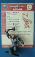 Dungeons & Dragons Miniatures BUGBEAR CHAMPION OF ERYTHNUL Angelfire(Cod D&D 90)