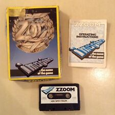ZX Spectrum - Zzoom by Imagine - RARE big box version