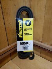 "Valucraft Automotive Belt 955K6 Serpentine Belt 6 Ribs x 95.5"" 2.43M"