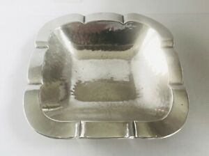 Rare Antique European solid silver astray , Germany, late 19th hallmarked