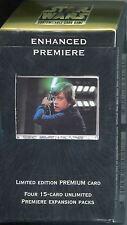 Star Wars CCG Enhanced Premiere Sealed Deck Luke With Lightsaber