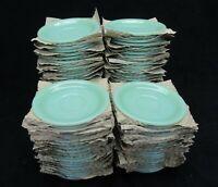 Vintage Jadeite Jadite Fire King Restaurant ware Saucers Minty Mint G-295
