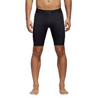 adidas Mens AlphaSkin Short Sport Tight Black Sports Running Breathable