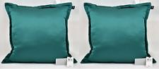 Hallmart Collectibles Set of 2 Decorative Square Pillow, Blue, 20x20