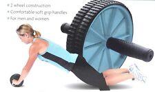 ABS Roller Wheel & Knee Protection Mat Soft Grip Handles