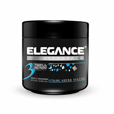 Elegance Triple Action Styling Hair Gel 35oz/1000ml Blue Label - FACTORY SEALED