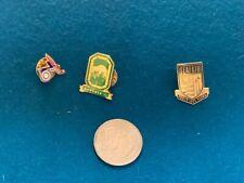 Lot Of 3 Executive Seattle Seafair Skipper Button Pins 1976,1982 & 1989