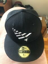 Roc Nation Paper Planes New Era Fitted Hat Green Bottom Brim 7 1/8