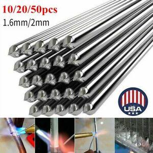 10/50Pcs Durafix Aluminium Welding Rods Brazing Easy Solder Low Temperature Rods