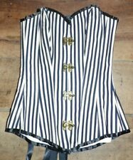 corset convient à T32/34/36 steampunk neuf uk4/6/8 boned 810+