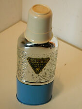 vintage BOUTEILLE THERMOS PANZER GLAS flasche Hermetos Vacuum Flask BOOTLE old