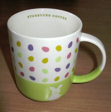 Starbucks Coffee Mug Easter Eggs Rabbit Bunny 2007 12 oz